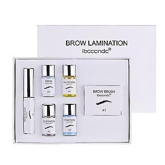 Semi-permanent Brow Løft Øyenbryn Laminering Kit
