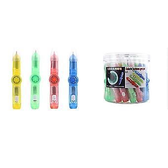 Luminous Toy Flash Gyro Pen Creative Office Decompression Luminous Ballpoint Pen Children's Gift