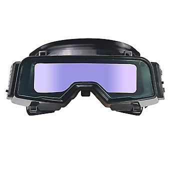 Anti-glare Scratch Proof Safety Welding Goggle