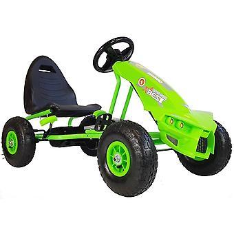 Go-kart Πράσινο – 115x63x59 cm – Διάμετρος τροχού 26 εκ.