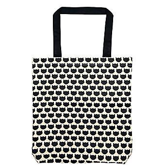 Moses. Ed The Cat Shopper Cats Allover - Crossbody bag, 42 cm, color: Black