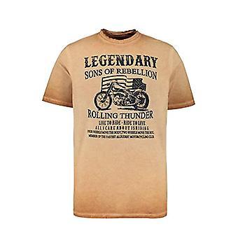 JP 1880 T-Shirt Cool Dye, Tan, 3XL Men's