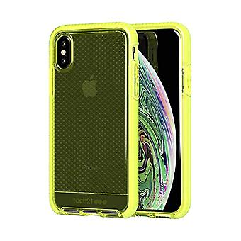 tech21 Evo Check Protective Case for Apple iPhone X/iPhone XS - Neon Yellow