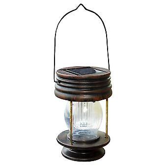 Valkoinen valo led retro aurinkovoimalla lamppu vintage aurinkovalo roikkuu lyhty puutarha lscap dt888