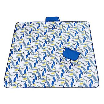 Blue and white 145x180cm outdoor moisture-proof waterproof oxford cloth picnic blanket mat striped park blanket necessary for picnic homi2811