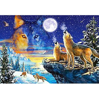 Castorland Howling Wolves Jigsaw Puzzle (1000 Pieces)
