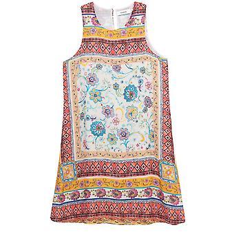 Desigual Sleeveless Floral Print Dress
