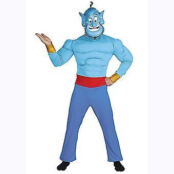 Χαριτωμένο μαγικό κοστούμι απόδοσης παιδιών λαμπτήρων Aladdin μαγικό cosplay λαμπτήρων (μικρό)