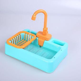 Automatico Bird Toy Vasca Piscina Contenitore Doccia Acqua Dispenser Giocattoli per pappagalli