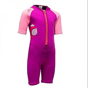 Mimigo Girls And Boy One Piece Rash Guard Swimsuit Kid Water Sport Short Swimsuit Sun Protection Bathing Suits