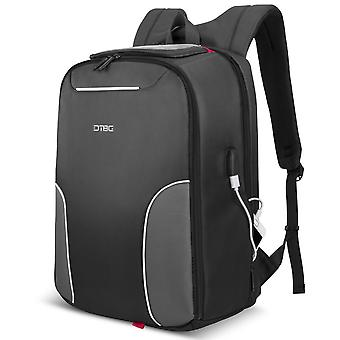 Laptop Backpack 17.3 Inch With Usb Charging Port, Water Resistant Travel Rucksack Business Knapsack