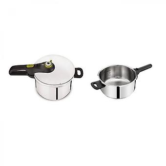 Tefal Pressure Cooker Secure 5 Neo 4 + 6l All Heat Including Induction