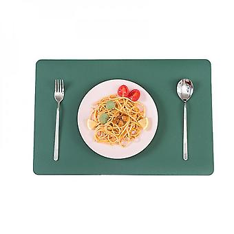 Western Food Mat Pvc Leather Heat Insulating Oil Resistant For Table, Hotel, Home, Nordic Style