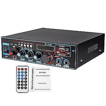 800W 12/220v hifi 2ch power amplificador de áudio home theater sistema de som mini amplificador bluetooth