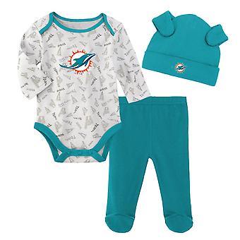 NFL Newborn Baby Set - LITTLE Miami Dolphins