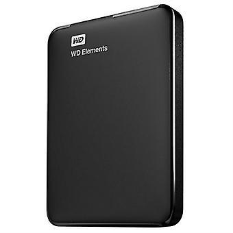 Disque dur externe Western Digital Elements Portable 2.5» 5000 Mb/s Noir