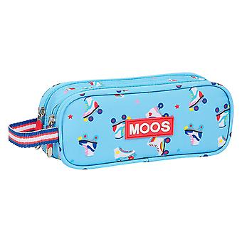 Double Tote Holder Rollers Moos Light Blue