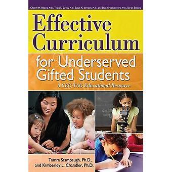 Pratiques de programme efficaces pour les élèves surdoués mal desservis Une ressource éducative du CECTAG