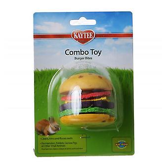 Kaytee Combo Toy - Burger Bites - 1 Pack