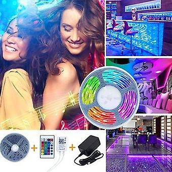 Bakeey 5m 10m ip66 5050 rgb wifi app smart led strip light with ir remote controller work with alexa google  christmas decorations lights