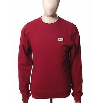 Fjallraven Vardag Crew Sweatshirt - Red Oak