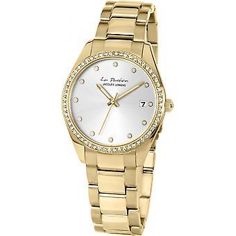 Jacques Leman Gold Acero Inoxidable LP-133I Reloj de Mujer