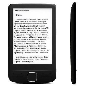Lecteurs de livres électroniques 4,3 pouces e-ink ebook reader lcd smart e-reader 4/8/16gb mémoire livre électronique hd e-book numérique
