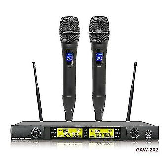 Microphones gaw-280 professional two-channel uhf handheld wireless microphone wireless gooseneck microphone and