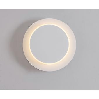Led-uri de perete lumina din fier forjat Pictura rotative Dormitor Noptiera lampa de interior decoratiuni interioare alb