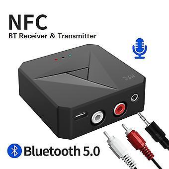 Transmetteur de récepteur Bluetooth 3.5mm Aux Jack Rca Music Adaptateur audio sans fil