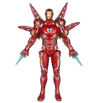 Avengers Iron Man Mk50! Movable Toy Doll! Children's Gifts!