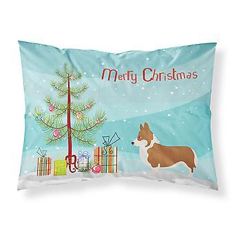 Pembroke Welsh Corgi Christmas Fabric Standard Pillowcase