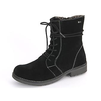 Lurchi Leona Black Suede 331700221 universal winter kids shoes