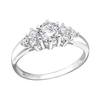 Cluster - argento 925 gioiello anelli - W29230X