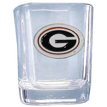Georgia Bulldogs NCAA Square Shot Glass