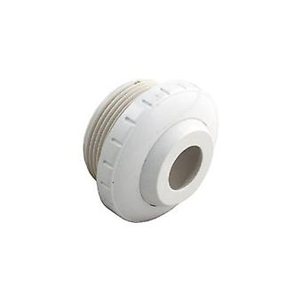 "Waterway 400-1410D 1.5"" MPT Eyeball Fitting 3/4"" Opening - White 4001410D"