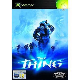 The Thing (Xbox) - Fabbrica sigillata