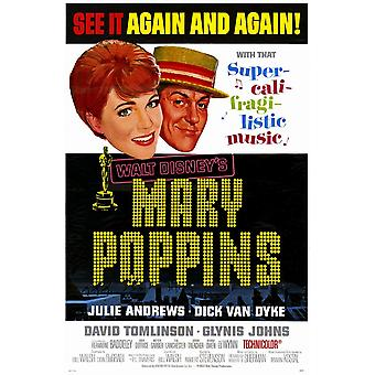Mary Poppins Movie Poster (11 x 17)