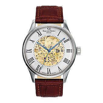 Carl of Zeyten men's watch wristwatch automatic Feldberg CVZ0011WH