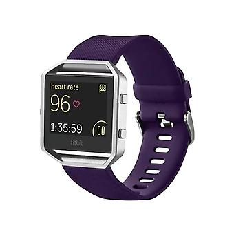 Plastic / silicone watch wristband for Fitbit blaze watch purple accessories