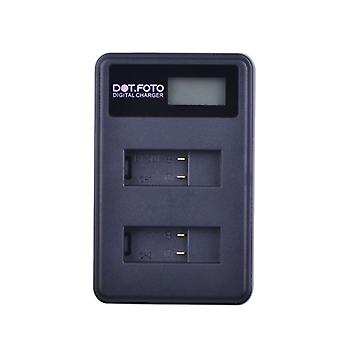 Dot.Foto GoPro AABAT-001 LCD USB Dual Battery Charger