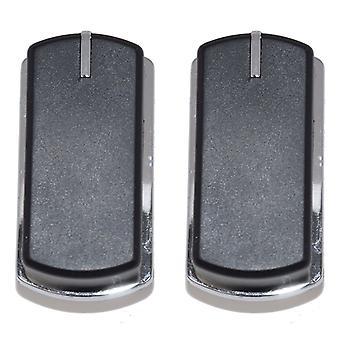 2 x passer Belling 444449565 og 444449566 komfur ovn komfur Grill kontrolknappen ringe