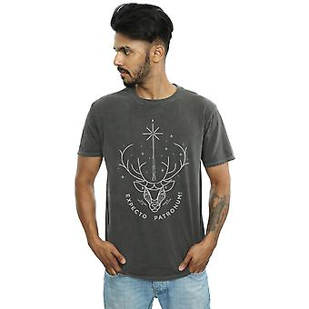 Harry Potter Men's Expecto Patronum Charm Washed T-Shirt