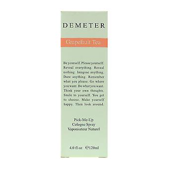 Té de pomelo Demeterme recoger Colonia Spray 4.0 Oz/120 ml en caja