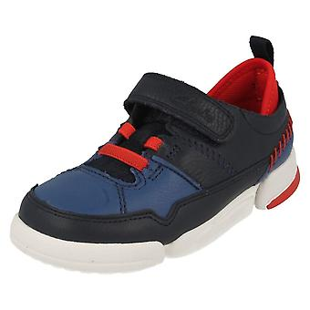 Boys Clarks Casual Shoes Tri Scotty