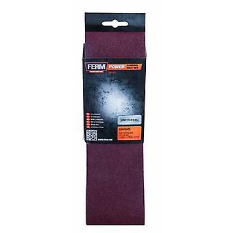 Ferm BSA1013 BSA1013 schuurpapier riem korrel 120 (L x W) 533 x 75 mm 3 PC('s)