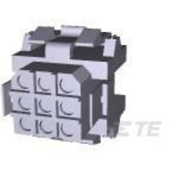 TE Connectivity Pin kotelo - kaapeli Metrimate määrä nastat 9 yhteystiedot välistys: 5 mm 207439-1 1 PCs()