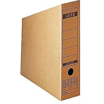 Archivo Leitz Box 6083-00-00 80 mm x 320 mm x 265 mm cartón corrugado ecru Brown 1 ud (s)