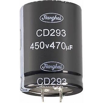 JiangHai ECS1JBZ562MT6P23035 eletrolítico capacitor Snap-in de 10mm 5600 µF 63 V 20% (Ø x H) 30 x 35 mm 1 computador (es)