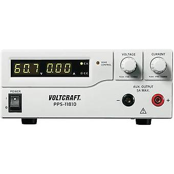 VOLTCRAFT PPS-11810 Bench PSU (adjustable voltage) 1 - 18 V DC 0 - 10 A 180 W USB , Remote programmable No. of outputs 2 x